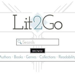 Lit2Go is a free online collection of stories and poems in Mp3 (audiobook) format