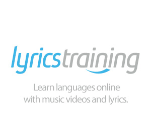 Lyrics Training - a game where you fill in the lyrics of your favorite songs